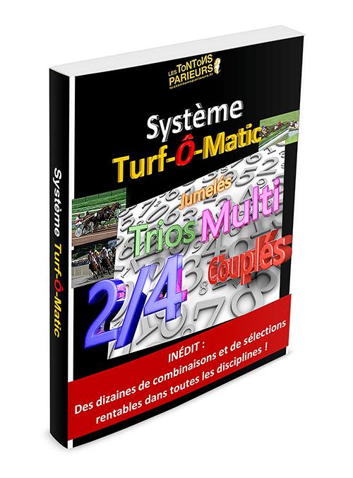 Turfomatic : meilleurs systèmes de jeux rentables au Quinté